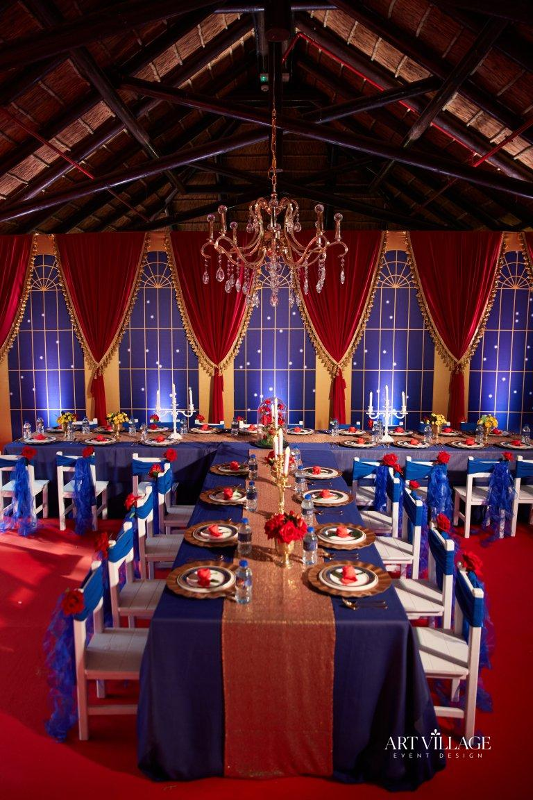 venue selection and decoration