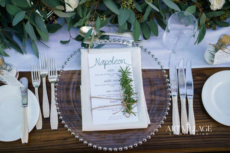eco-friendly table decorations