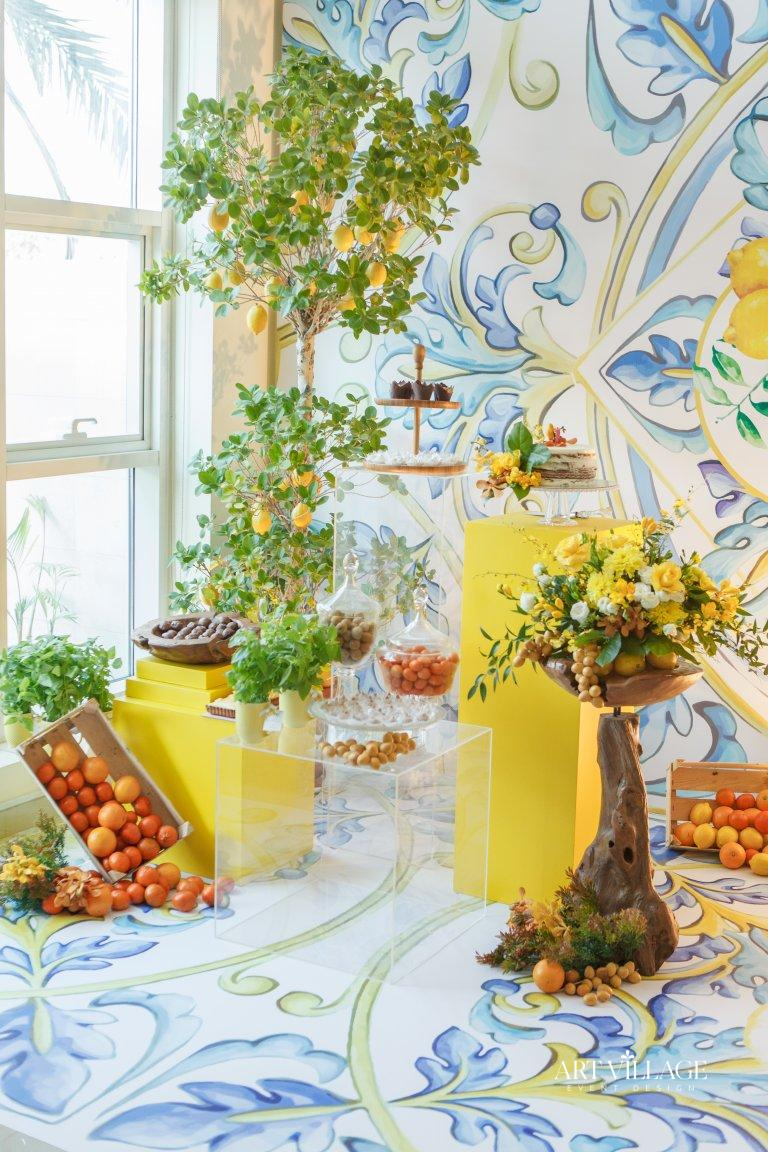 artificial plant decoration Abu Dhabi