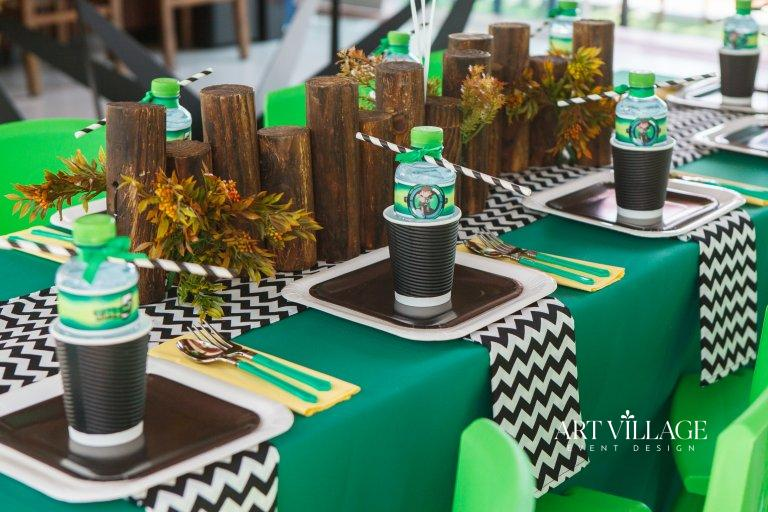 customized wooden centerpieces