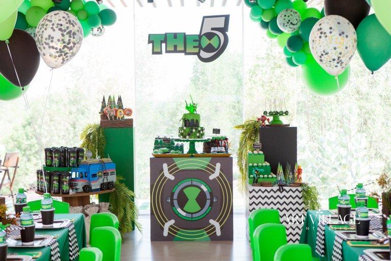 Ben 10 themed party Dubai