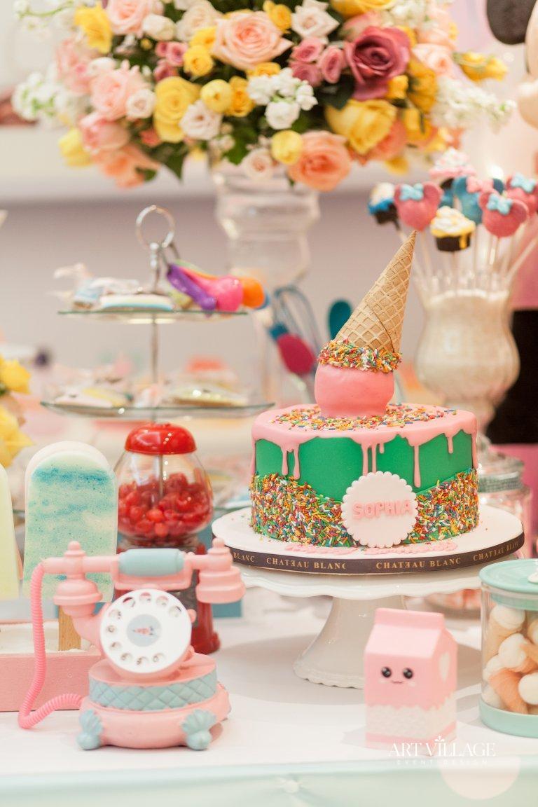 Dessert designs for birthday party