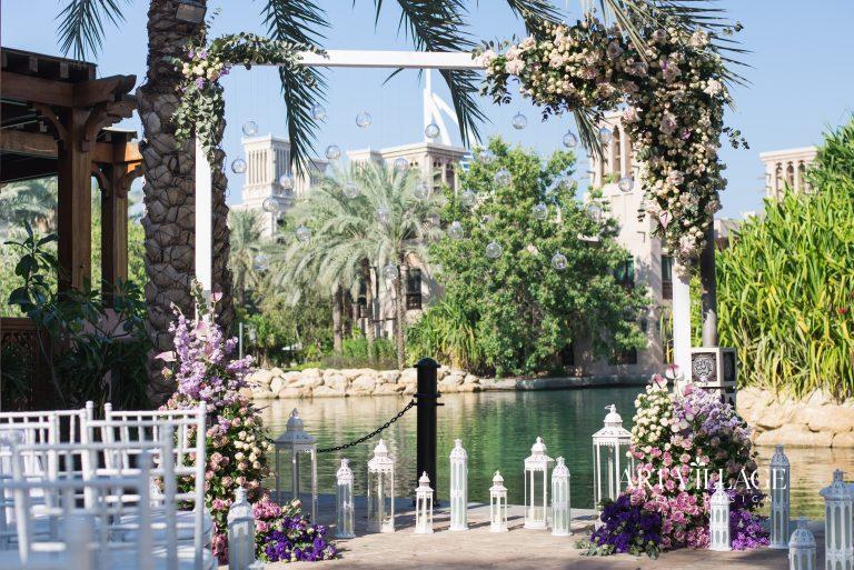 flower arch decoration UAE
