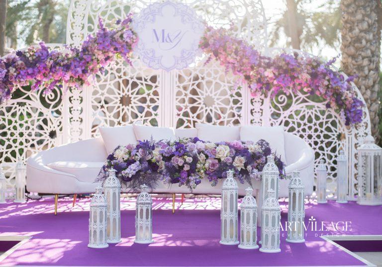 purple stage platform design