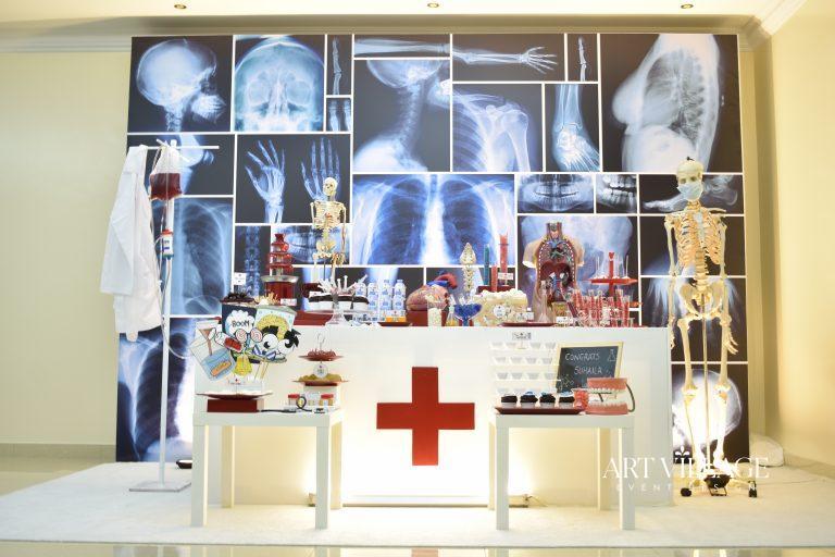 graduation party decor UAE