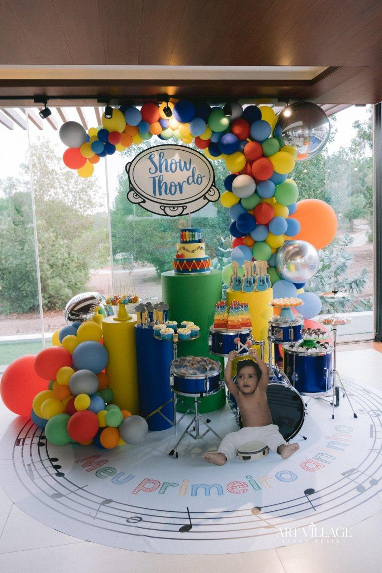 music theme party for baby