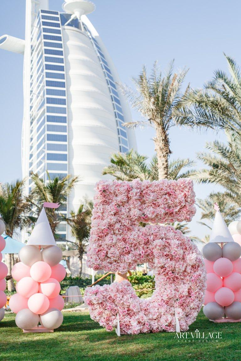 balloons and flowers outdoor designs