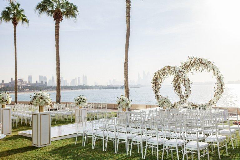 Garden blessing ceremony in UAE