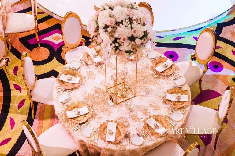 reception at Burj Al Arab