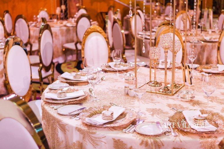 Al Falak ballroom venue decoration