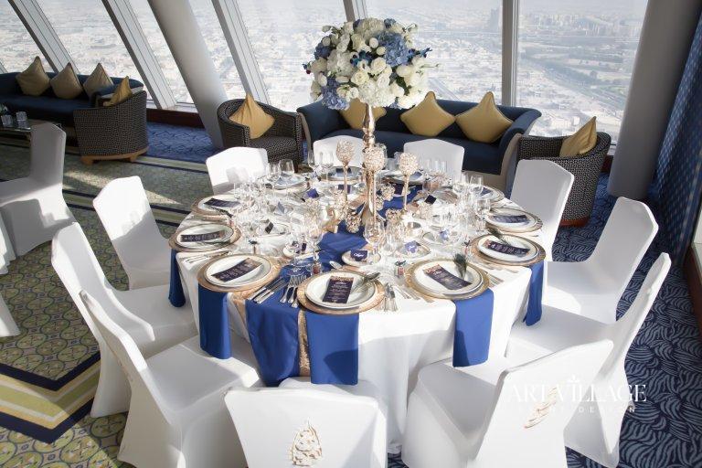 White banquet chair