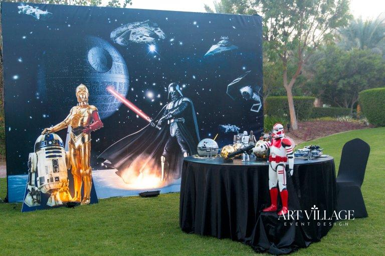 thematic backdrop design in UAE
