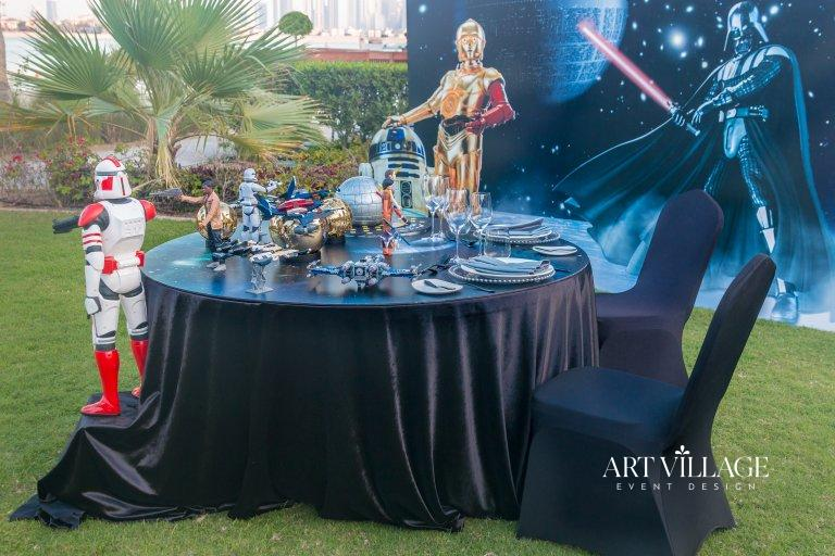 star wars themed anniversary Dubai
