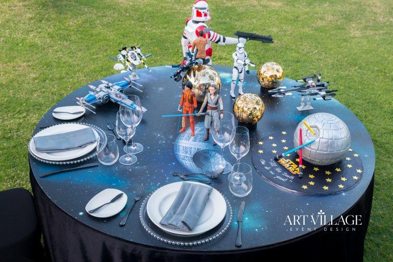 thematic wedding anniversary table decorations