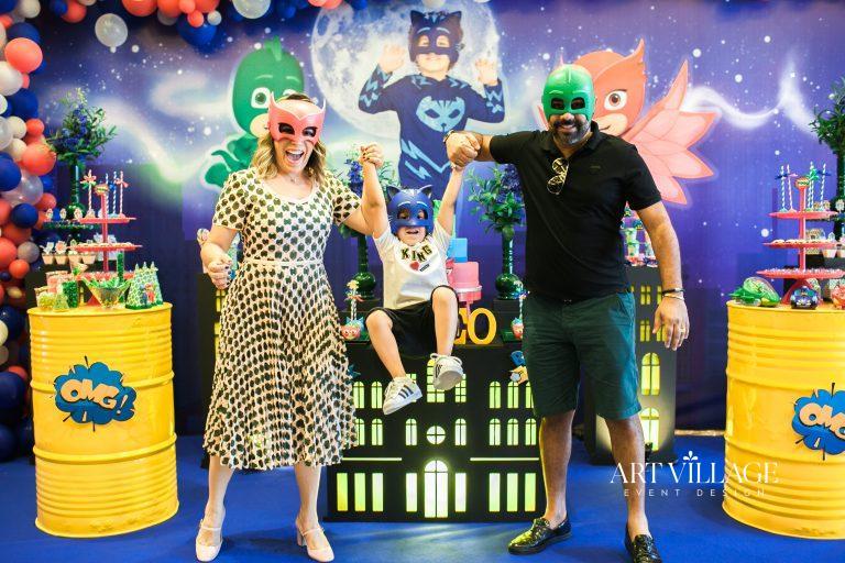 PJ Masks birthday theme UAE