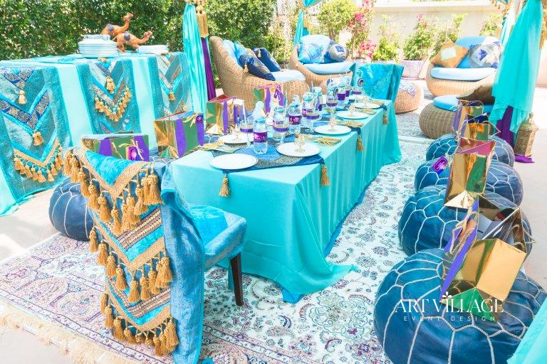 arabic style table decor UAE