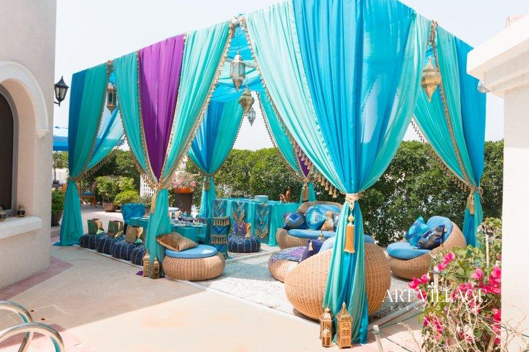outdoor party tent rental Dubai