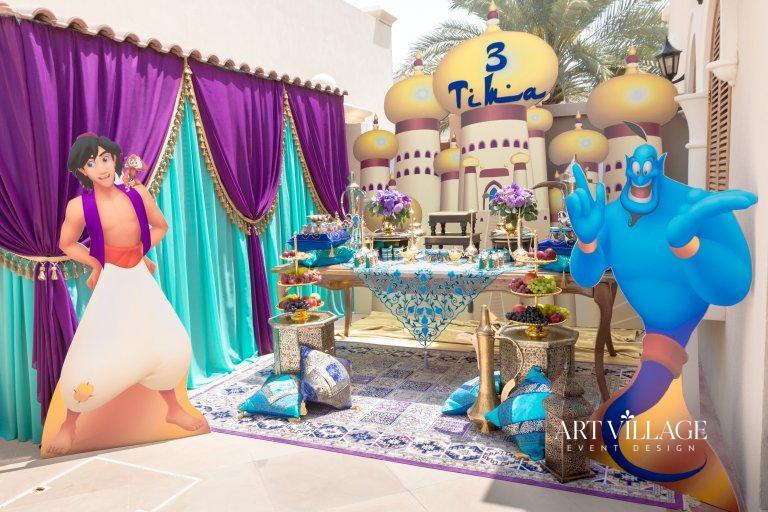 thematic backdrop designs Abu Dhabi