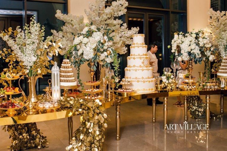 cake & candy buffet Ajman