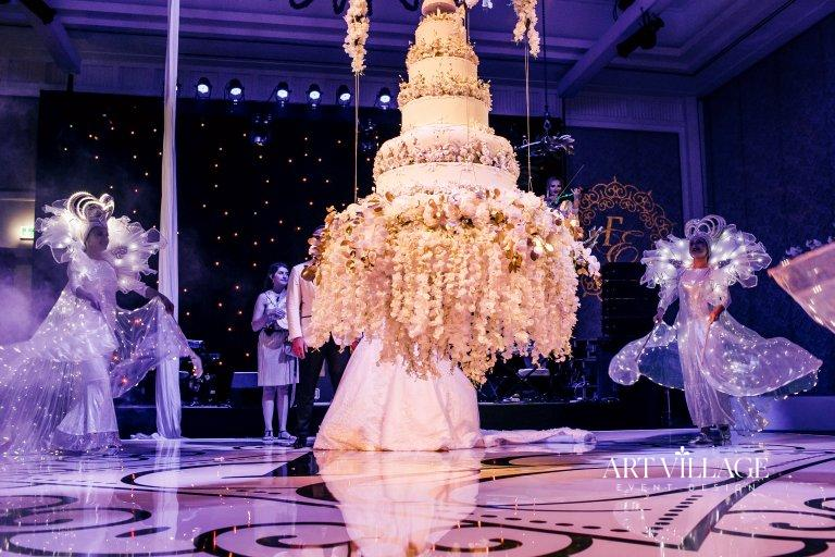 beautiful reception dance floor design