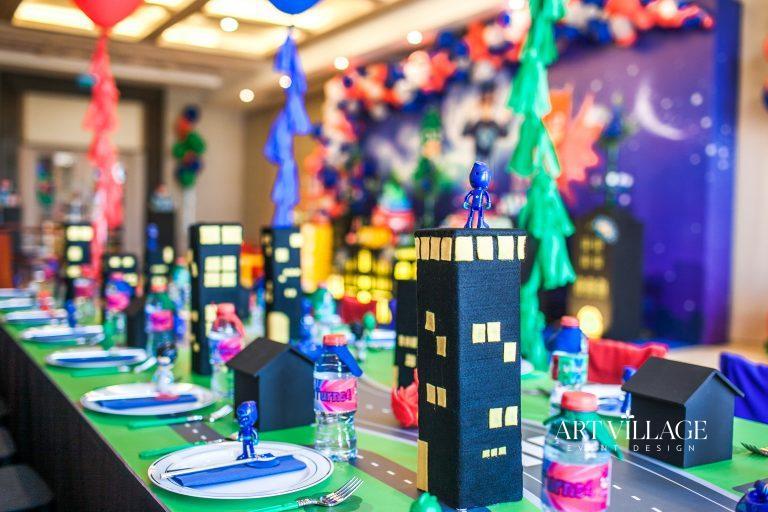 personalized table decoration UAE
