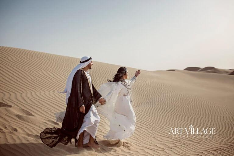 desert photoshoot in UAE