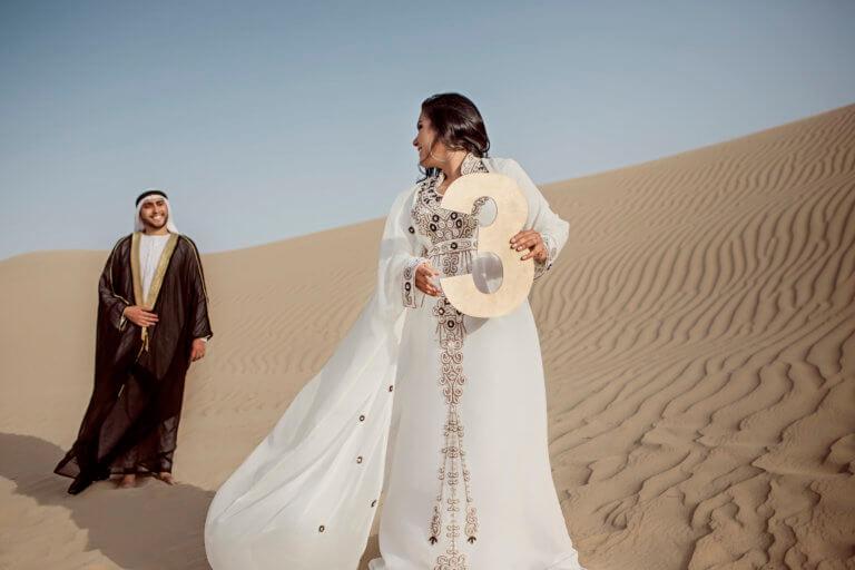 third wedding anniversary in Dubai