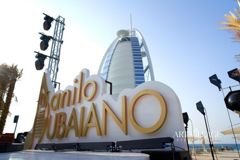 event branding design in Dubai
