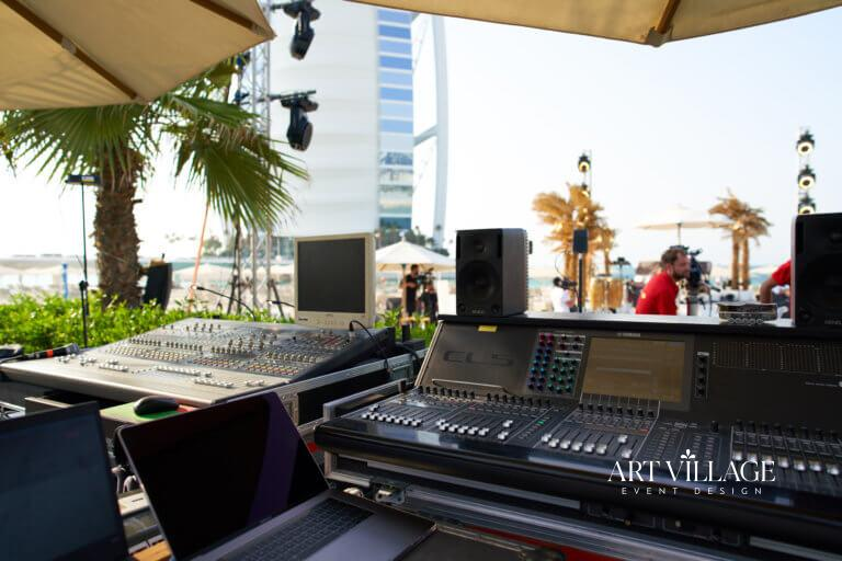 lights and sounds rental UAE