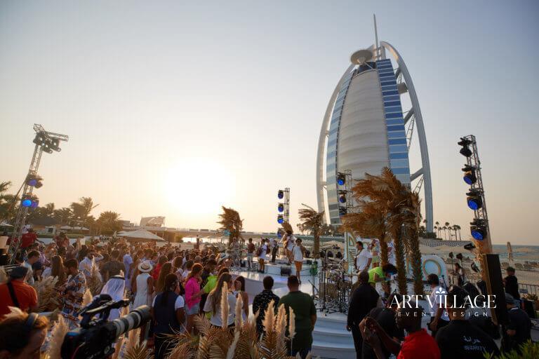 party at Jumeirah Beach Resort