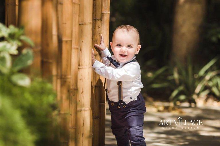 outdoor baby photoshoot Al Barari