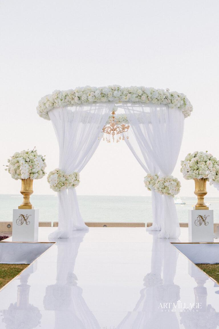 gazebo wedding decor in UAE