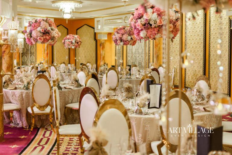 venue selection and decoration UAE