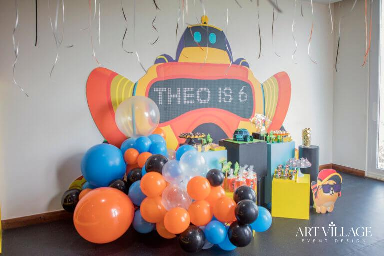 Birthday decorations for boy