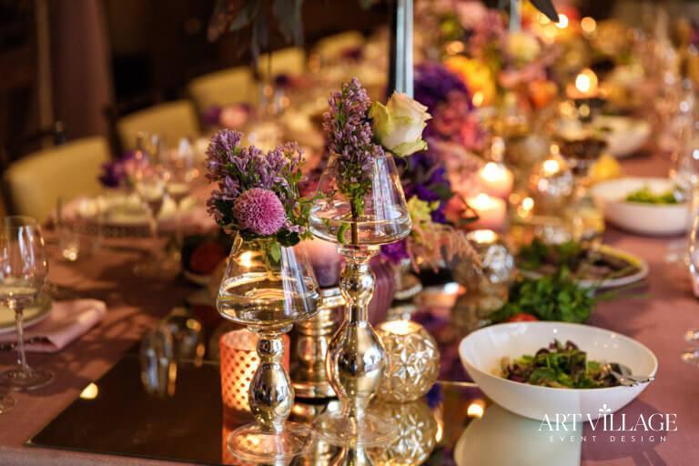 Feminine table decoration in dubai