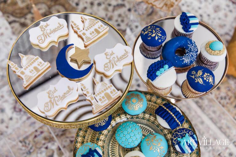 Arab themed sweets station