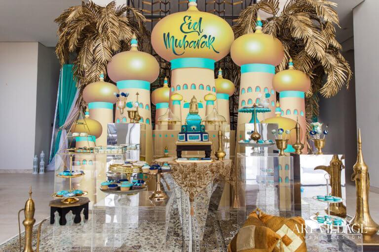 Eid decorations in UAE
