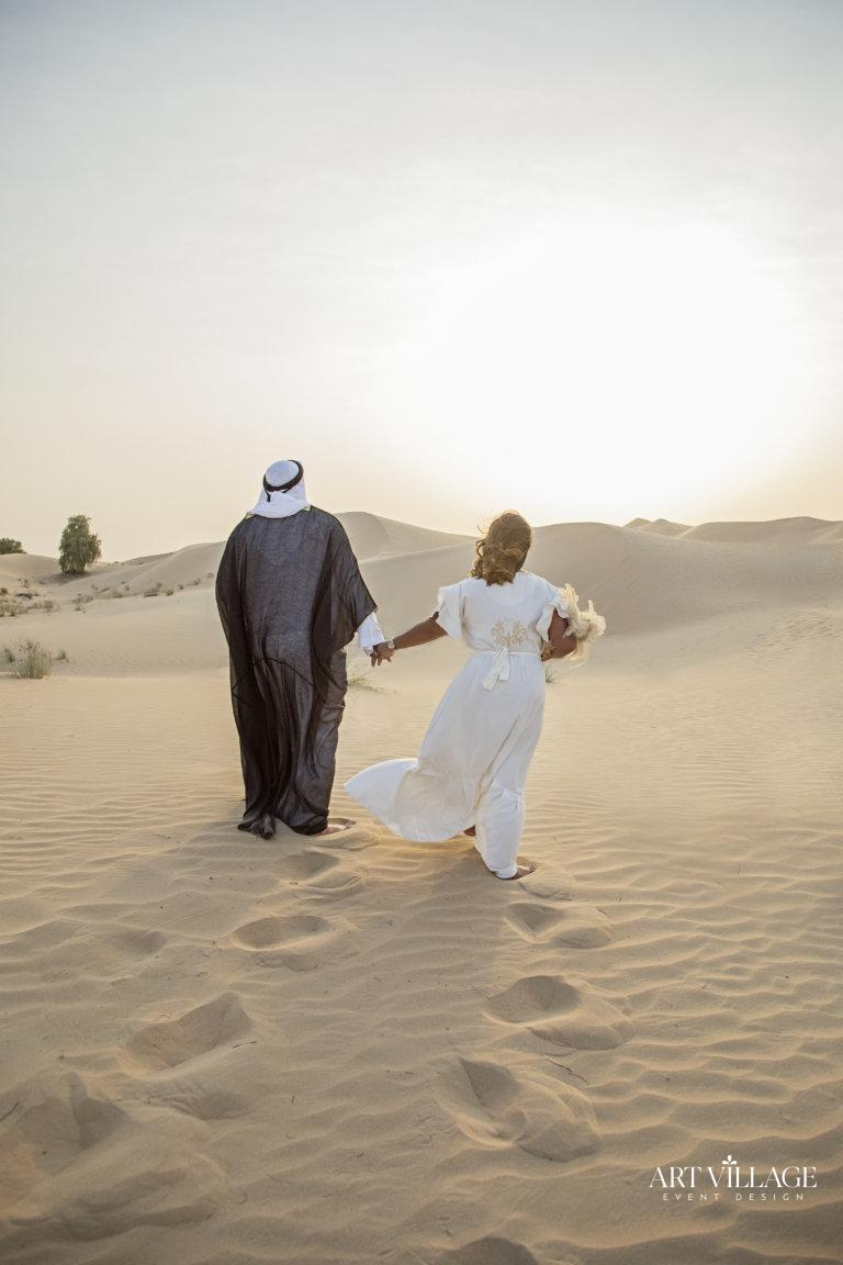 Bride and Groom sunset photoshoot